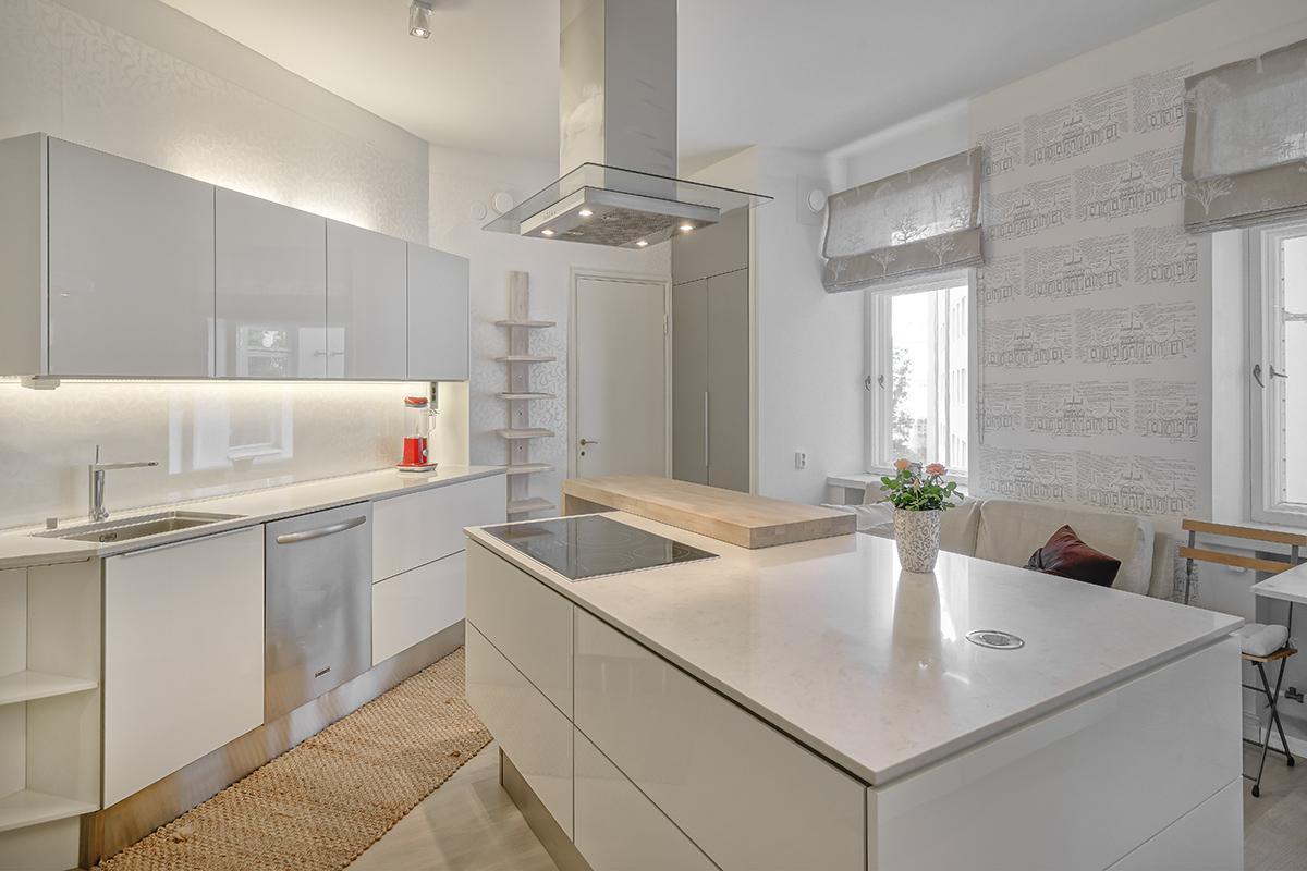 Moderni keittiö 9478403  Etuovi com Ideat & vinkit