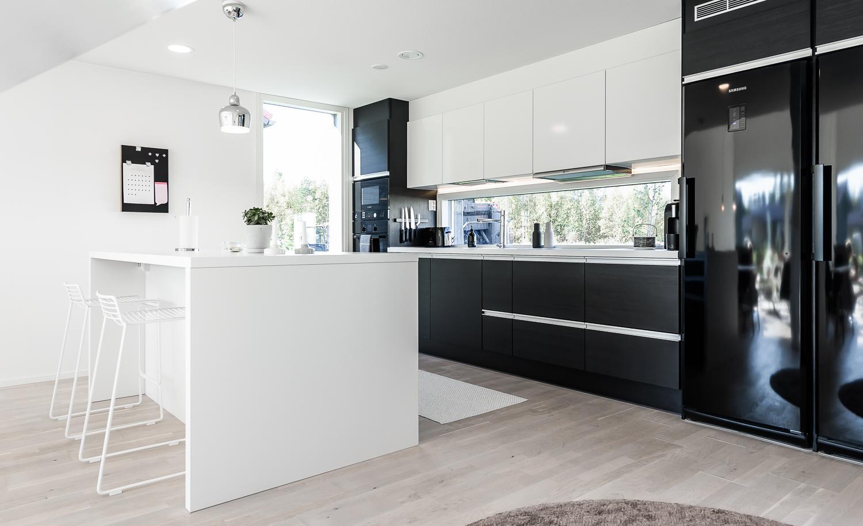 Skandinaavinen keittiö 7667855  Etuovi com Ideat & vinkit