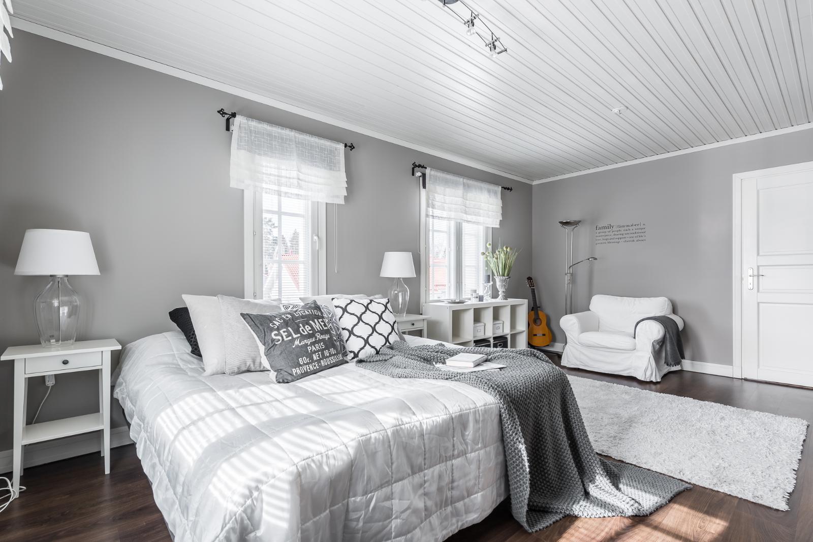 Maalaisromanttinen makuuhuone  Etuovi com Ideat & vinkit
