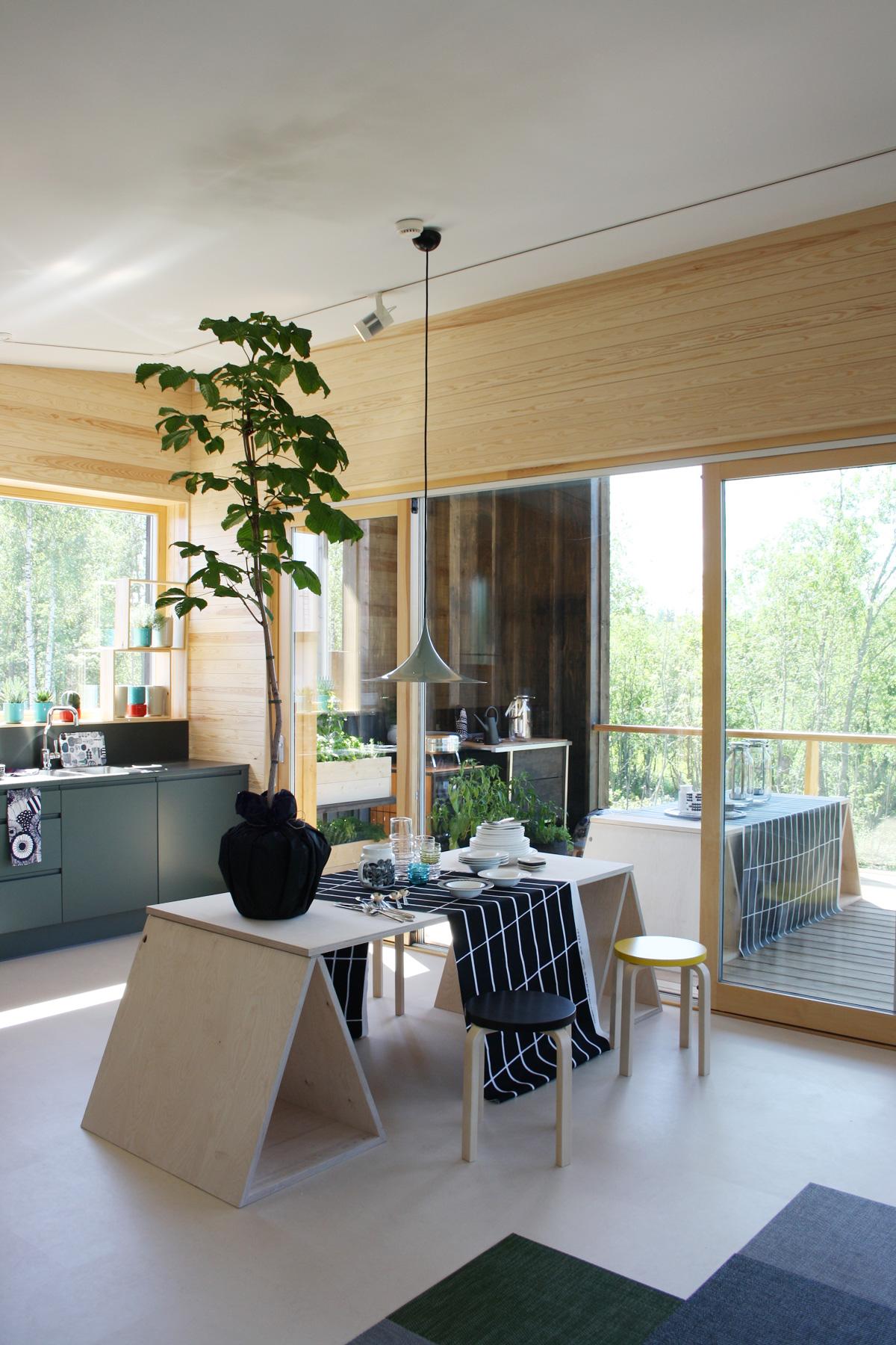 asuntomessut skammin talo ruokailutila