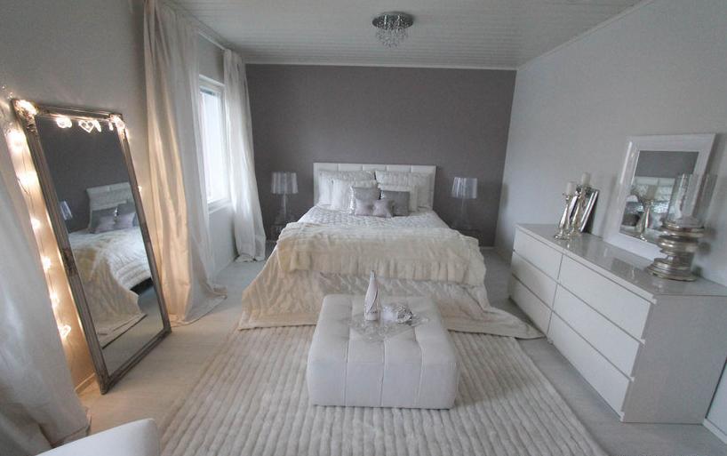 Glamour tyyliä makuuhuoneessa  Etuovi com Ideat & vinkit