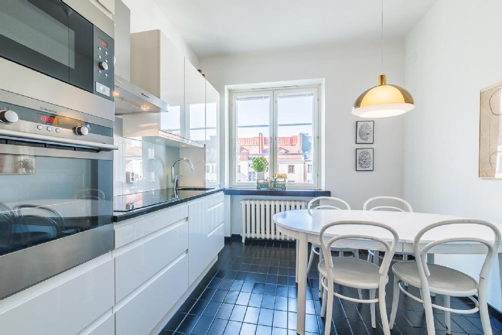 Vanhan asunnon remontoitu keittiö  Etuovi com Ideat & vinkit