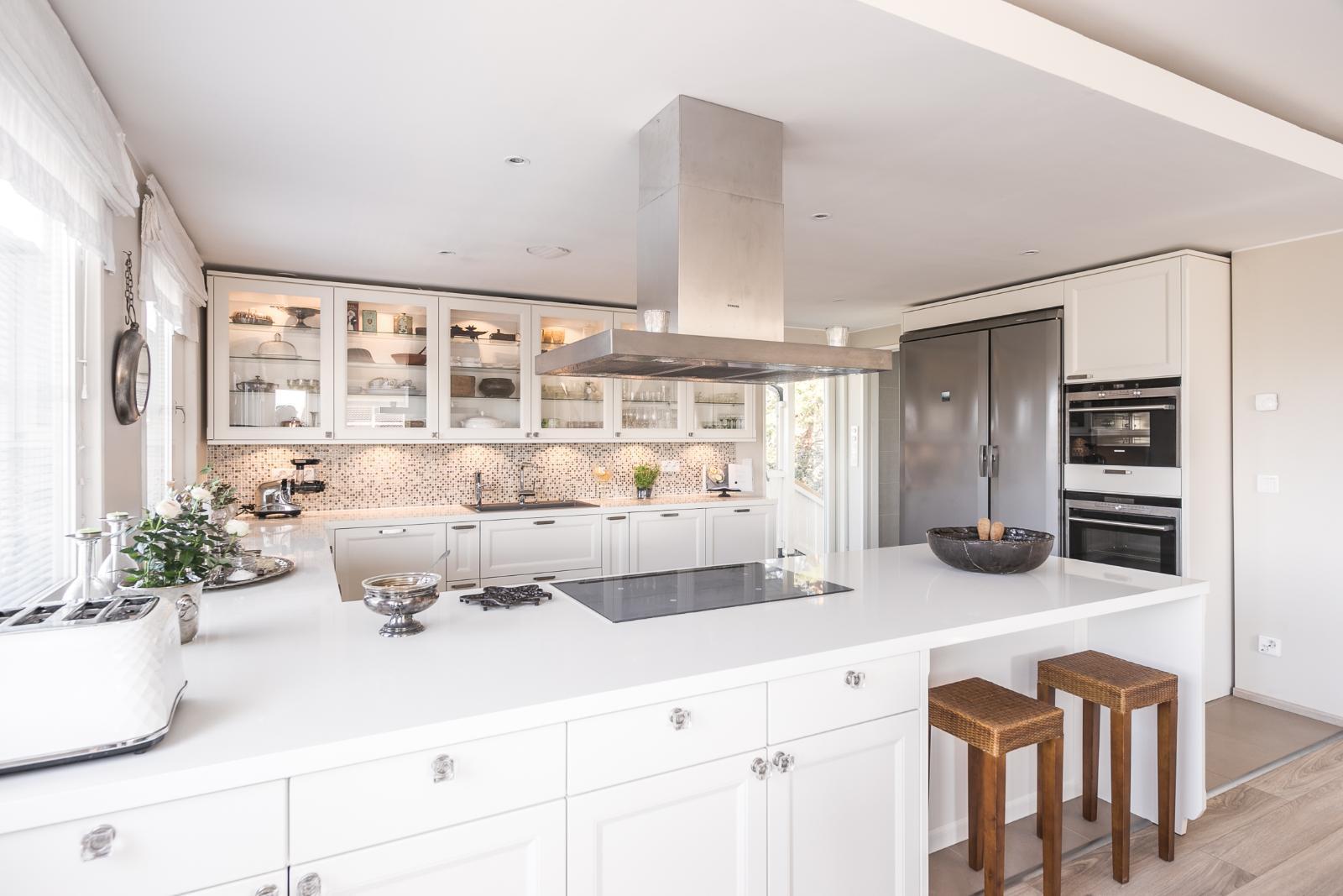 Kaunis ja kodikas keittiö  Etuovi com Ideat & vinkit