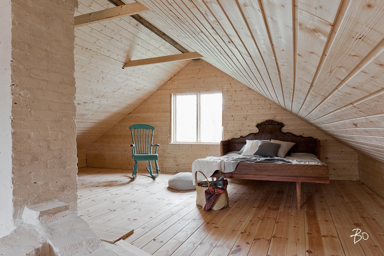 Kauniit nukkumatilat mökin yläkerrassa  Etuovi com Ideat & vinkit