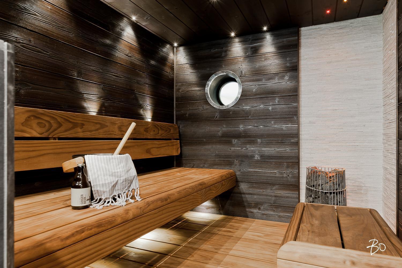 Pyöreä ikkuna saunassa  Etuovi com Ideat & vinkit