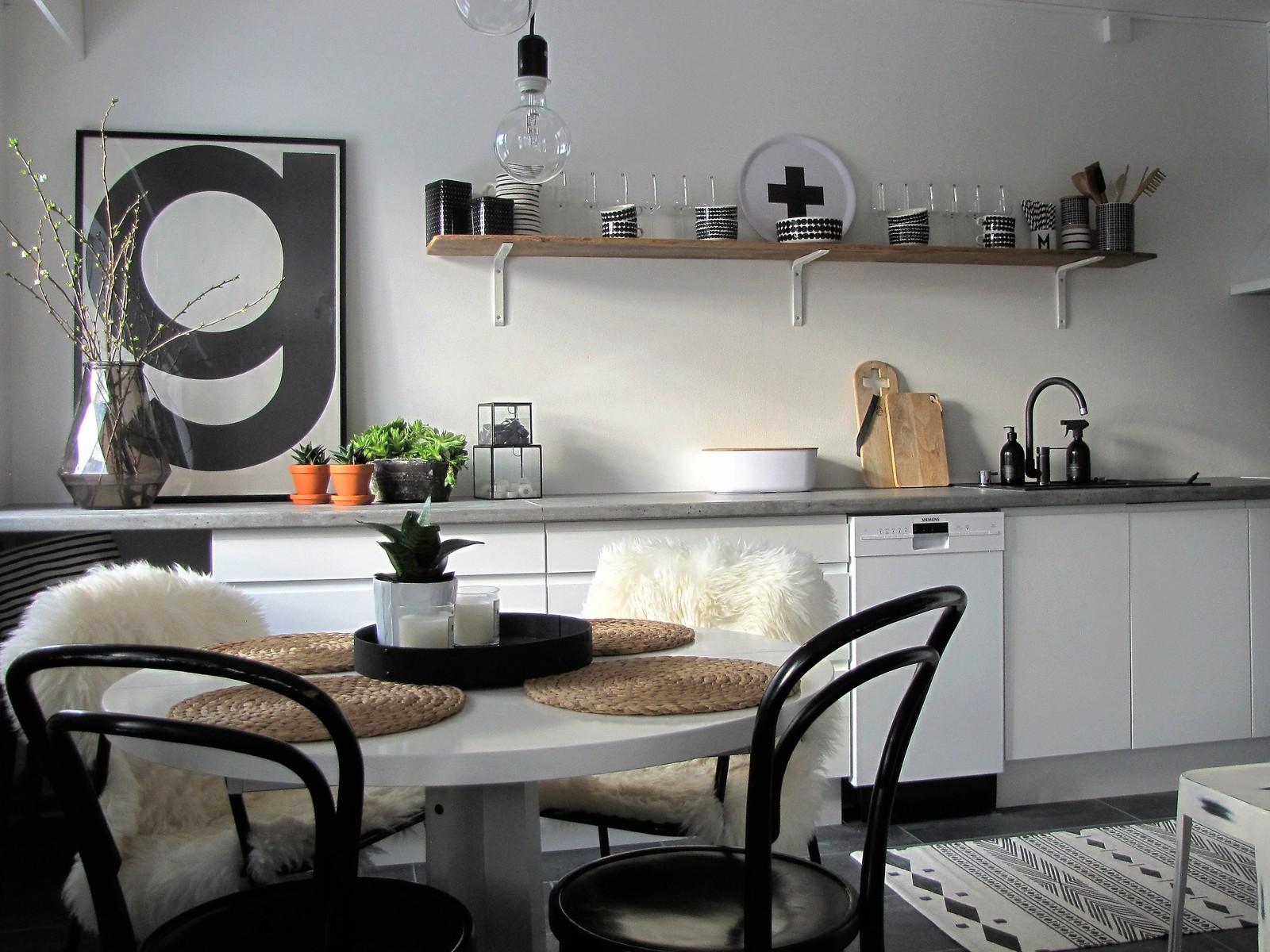 Skandinaavista ilmettä kaksion keittiössä  Etuovi com Ideat & vinkit