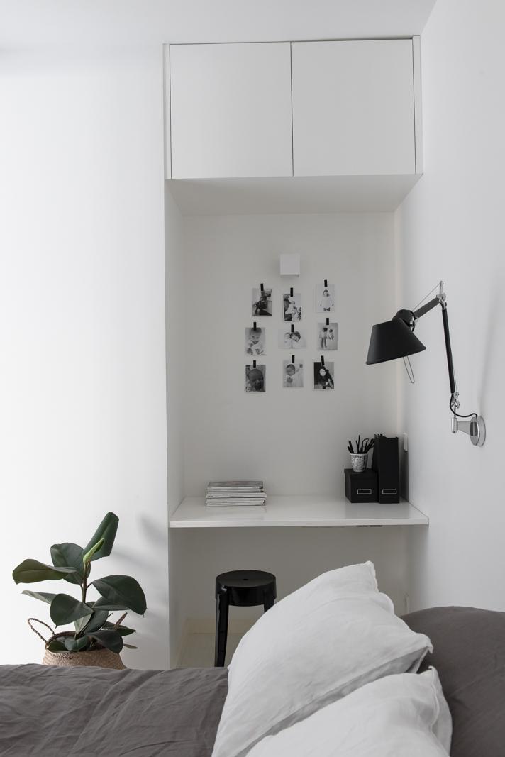 Pieni työpiste makuuhuoneessa  Etuovi com Ideat & vinkit
