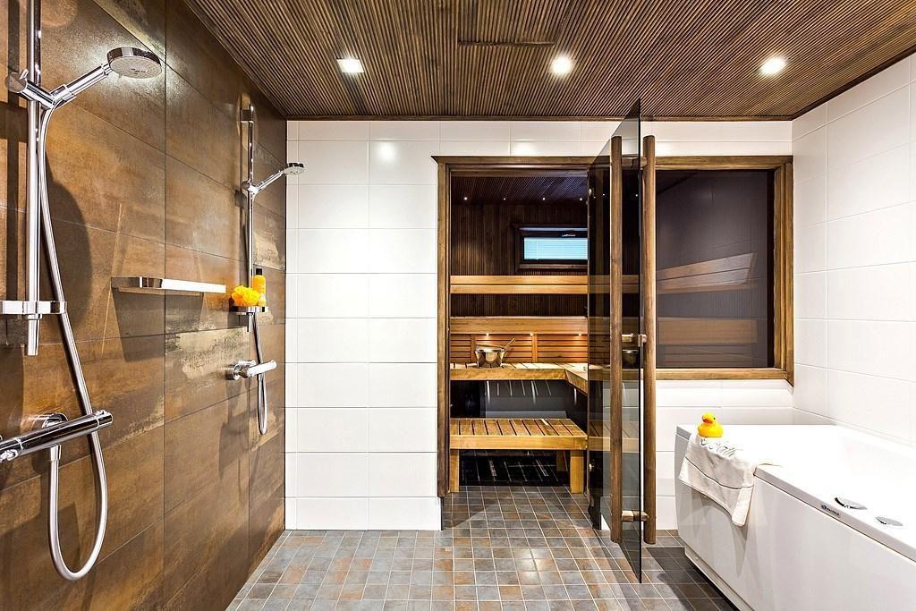 Unelmien koti sisältää saunan