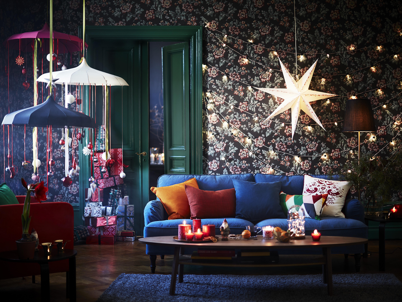 Ikea 2016 joulukoristeet, paperitähdet