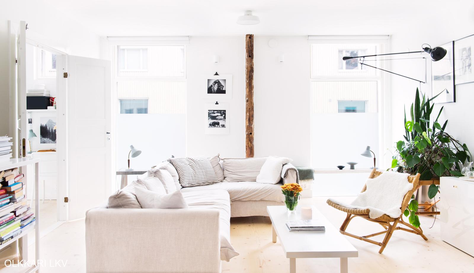 Pieni olohuone  viisi vinkkiä viihtyisään sisustukseen  Etuovi com