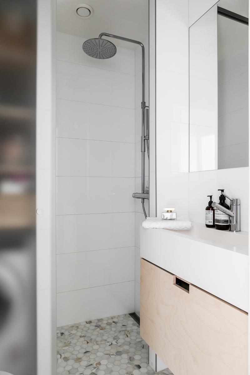 Kaunis pieni kylpyhuone  Etuovi com Ideat & vinkit