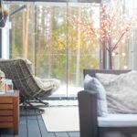 Lasit terassille jo talvella – terassi ympärivuotiseen käyttöön