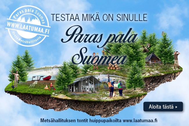 Laatumaa kysyy - Testaa mikä on sinulle paras pala Suomea