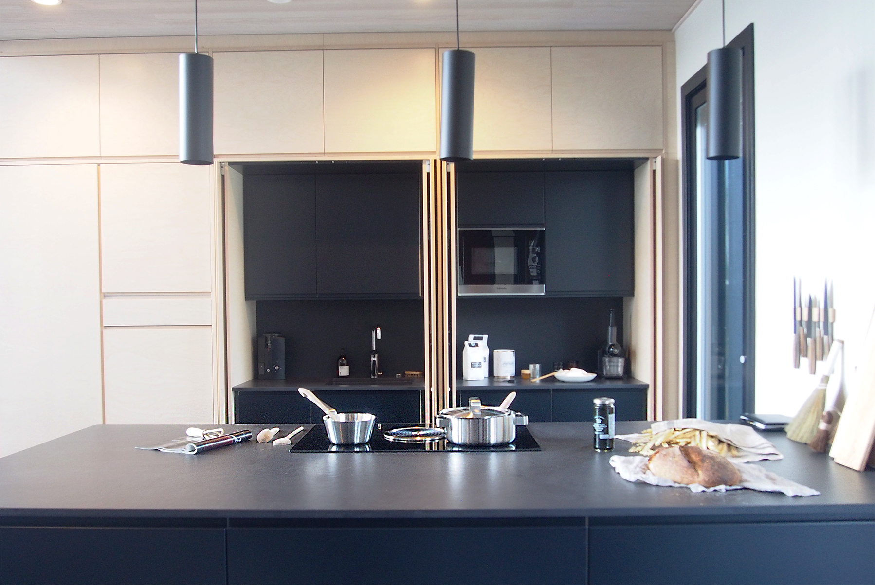 keittiö kannustalo harmaja saimaa asuntomessut 2017