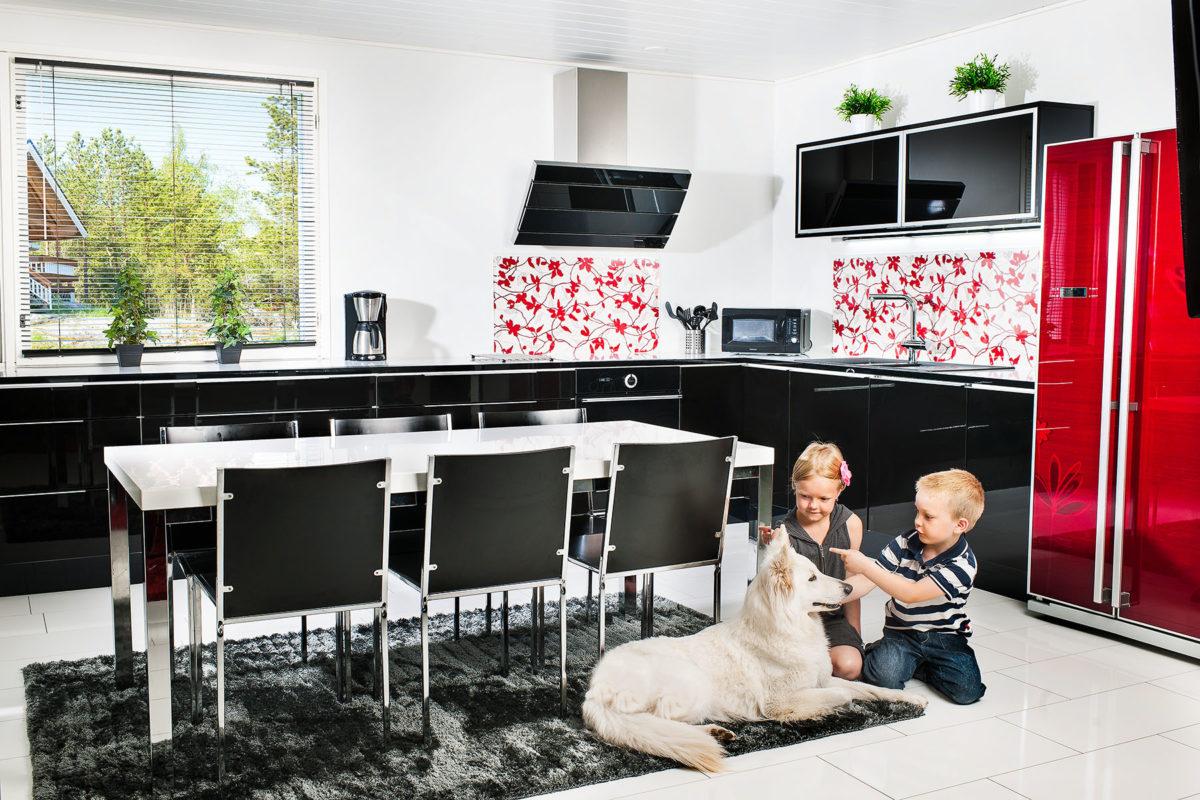 Lapsiystävällisen keittiön turvallisuus - Kalustetukku