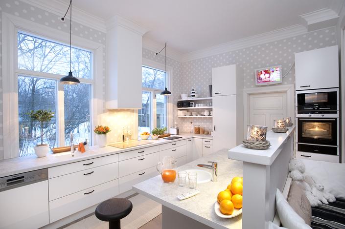Lapsiystävällisen keittiön kodinkoneet - Gloria-keittiöt