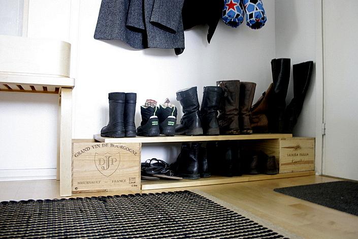DIY-kenkäteline