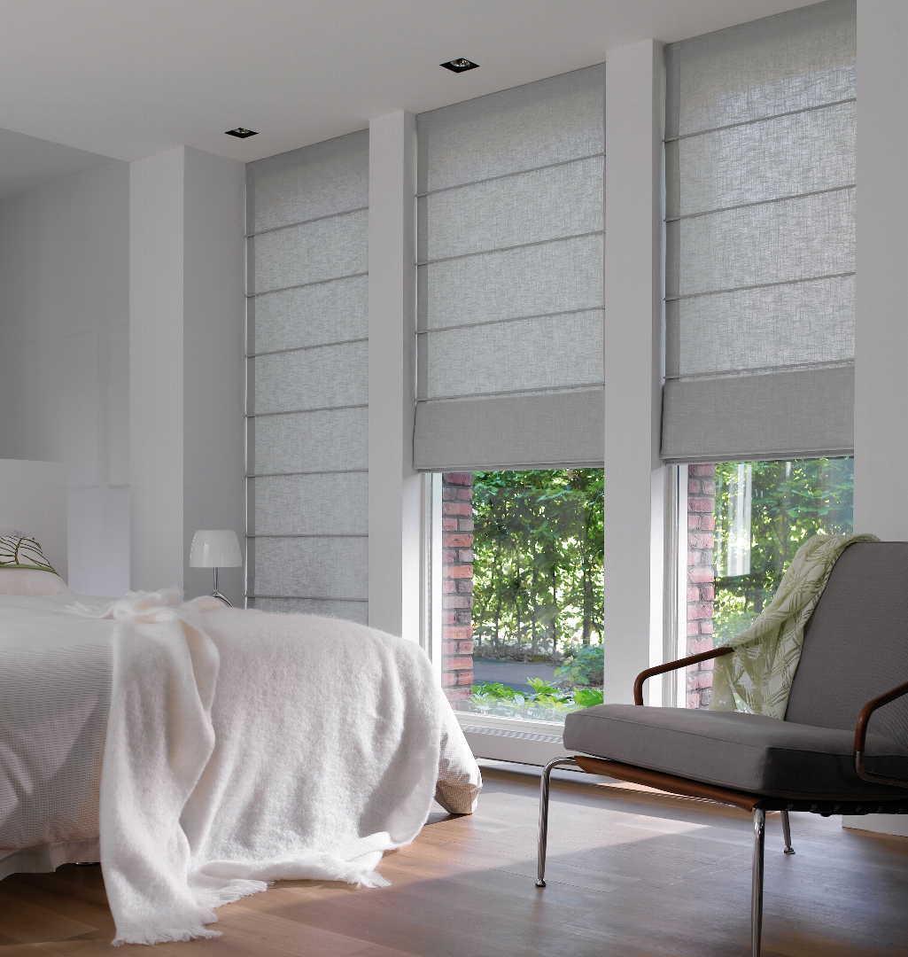 Rauhoittavat verhot makuuhuoneessa - Luxaflex