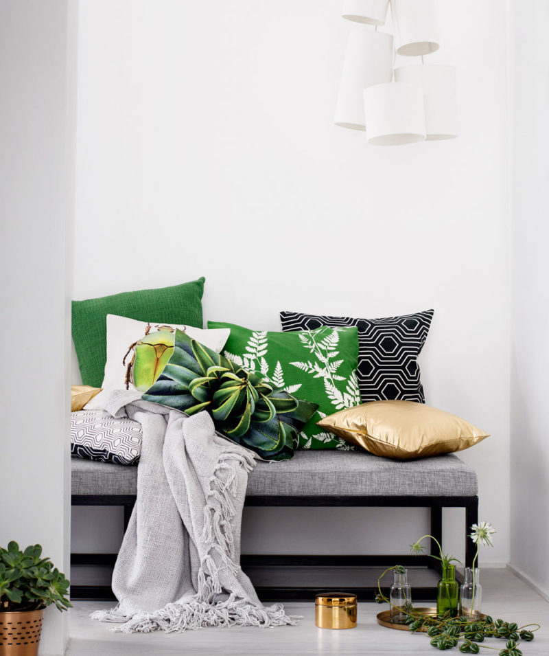 H&M Home tekstiilit