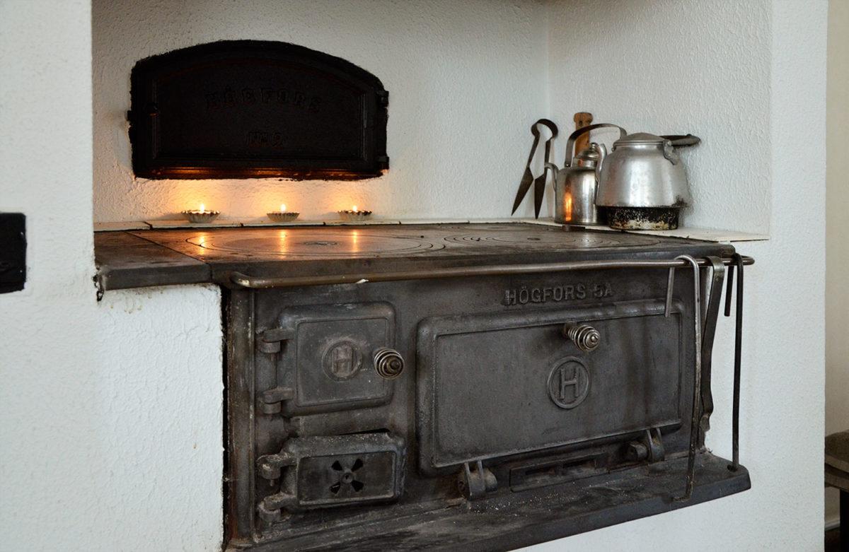 keittiö, leivinuuni