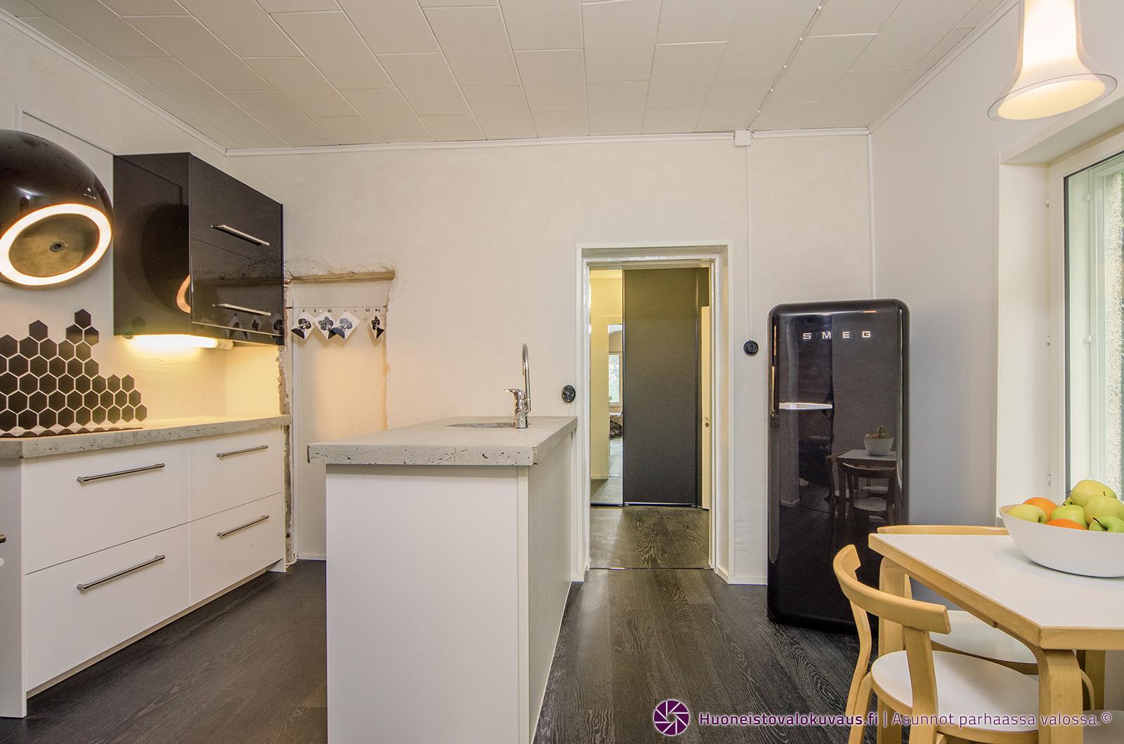 pispala, remontti, keittiö, kylpyhuone