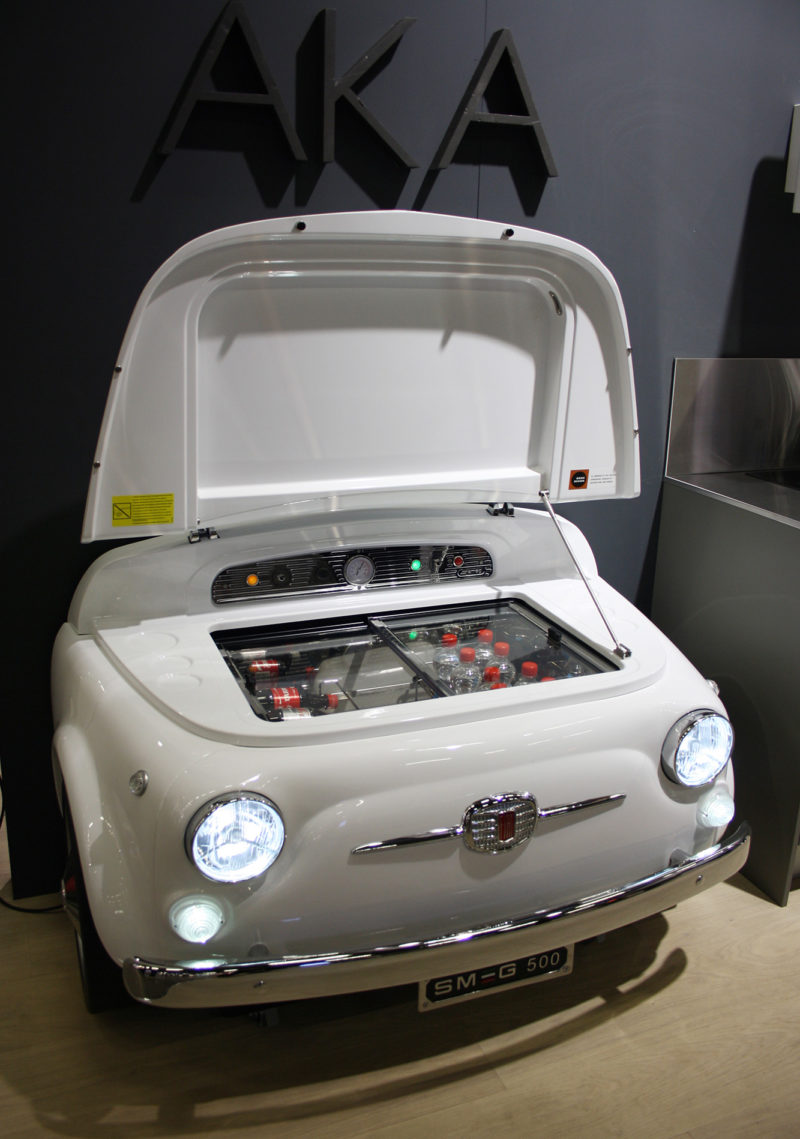 AKA-keittiöt, SMEG Fiat 500 -kylmäkaappi