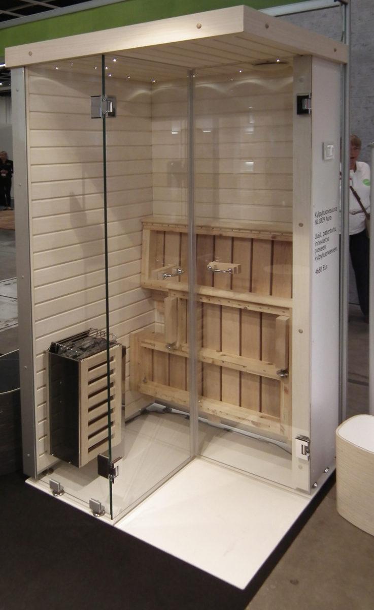 kokoontaitettava sauna, SaunaStore