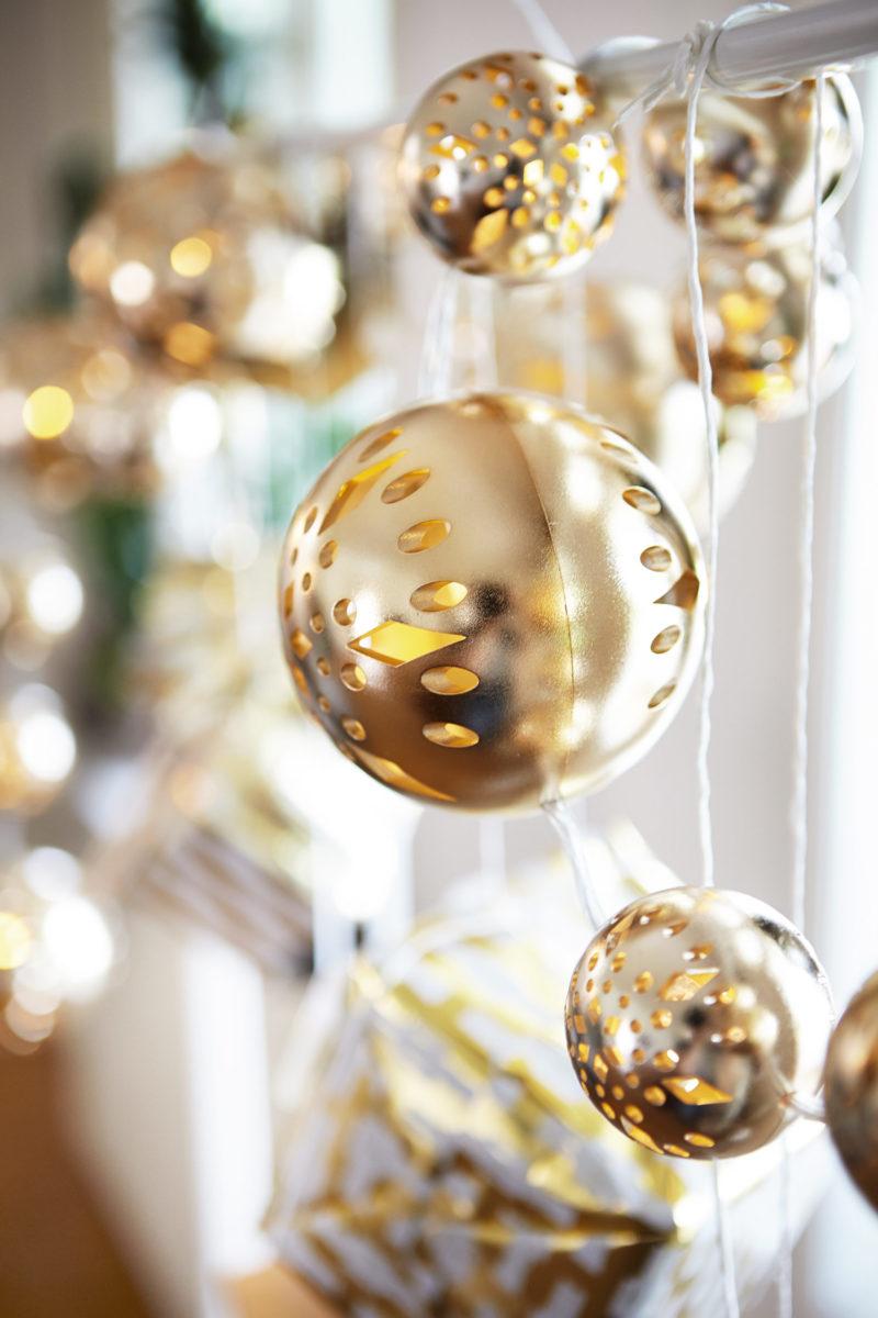 jouluvalot, Ikea, valoköynnös, valosarja