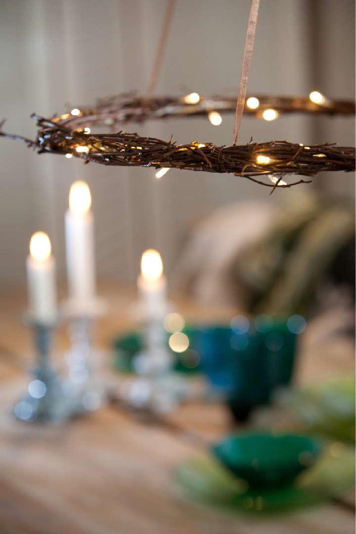 Björken-kynttiläkruunu Room21