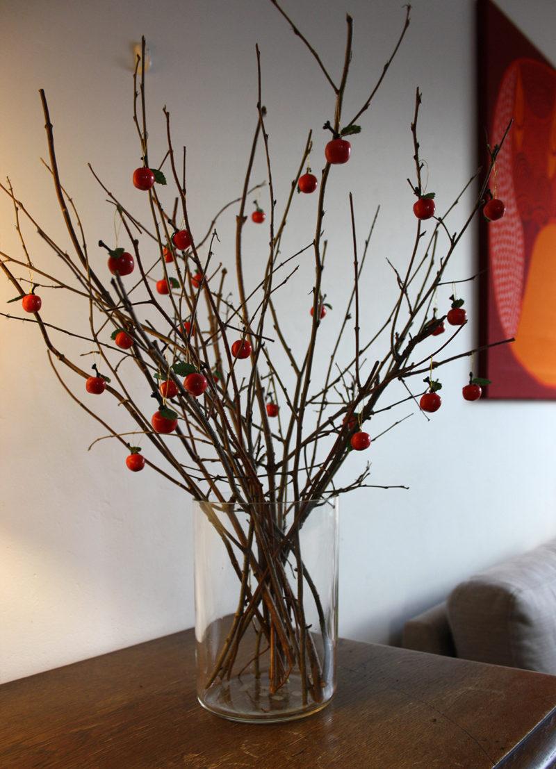 joulukoriste, omenat