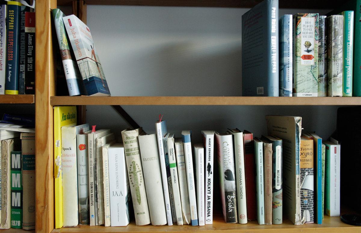 tavaram karsiminen, vanhat kirjat