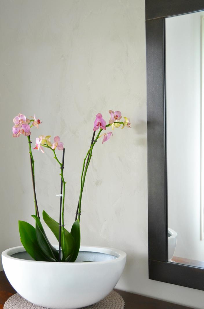 kukka ja peili