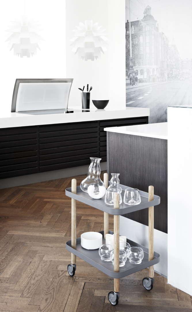 Scandinavian Design Center - Normann Copenhagen tarjoiluvaunu