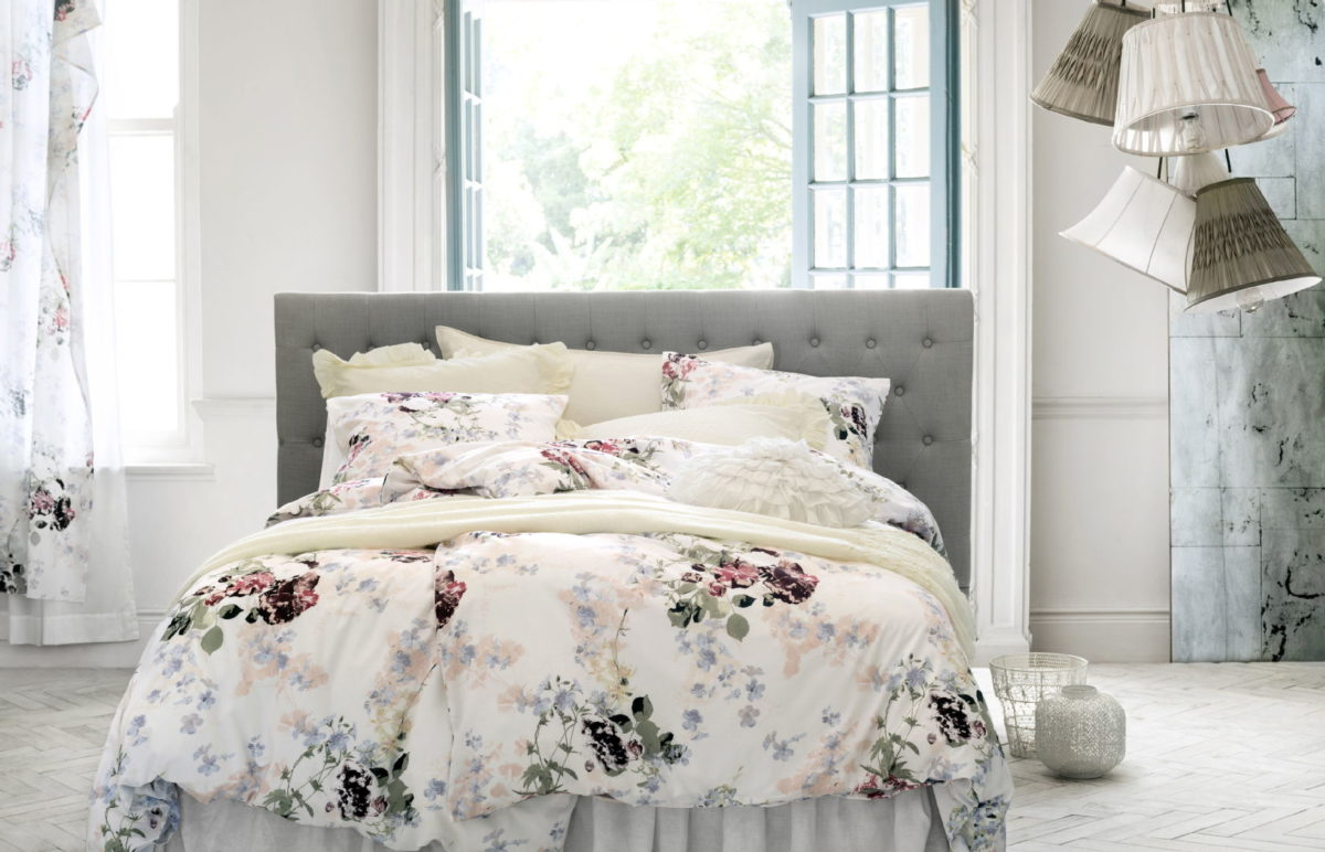 Makuuhuoneen sisustus: H&M Home