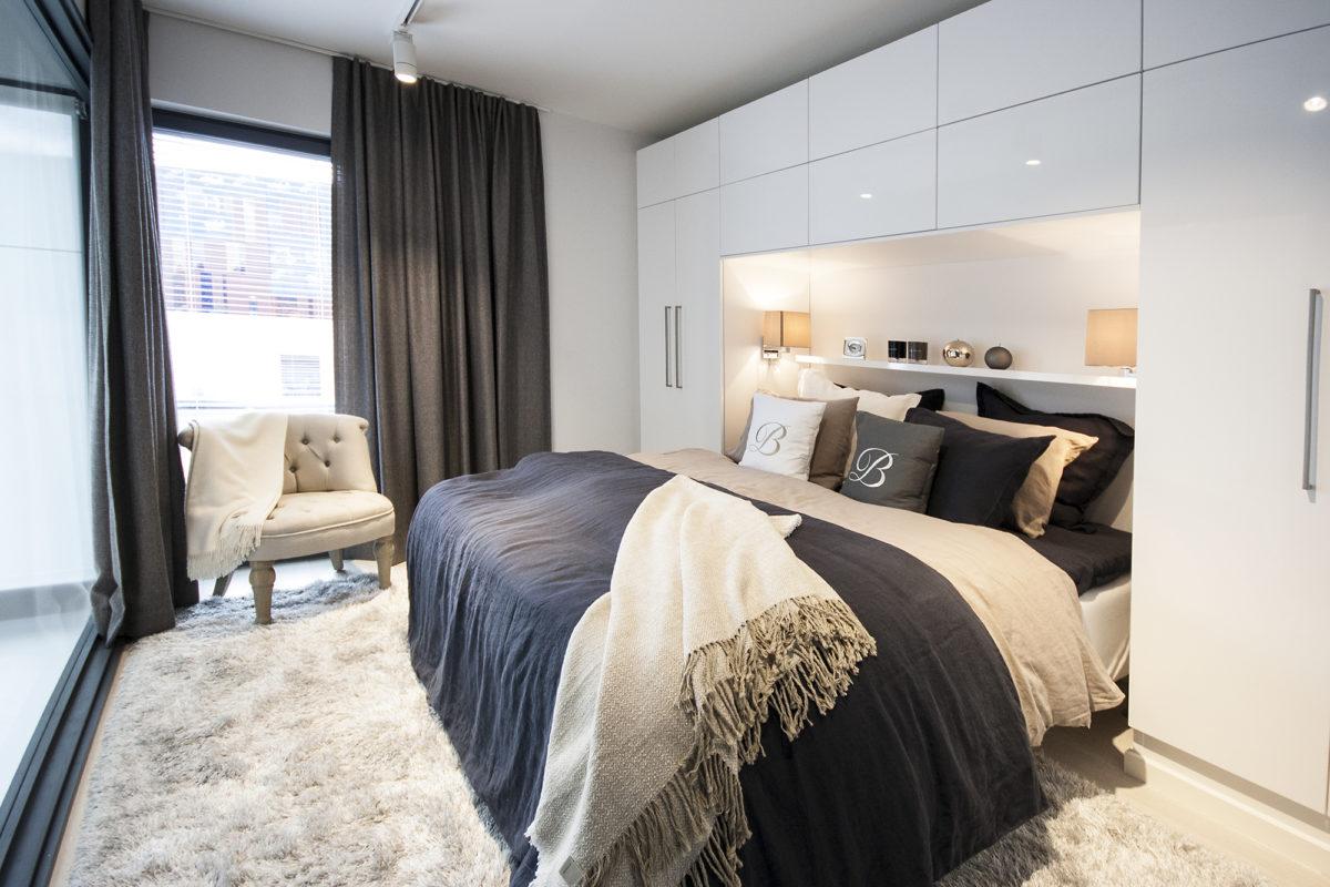 Asuntomessut 2015 Vantaa, Urban Villa, makuuhuone