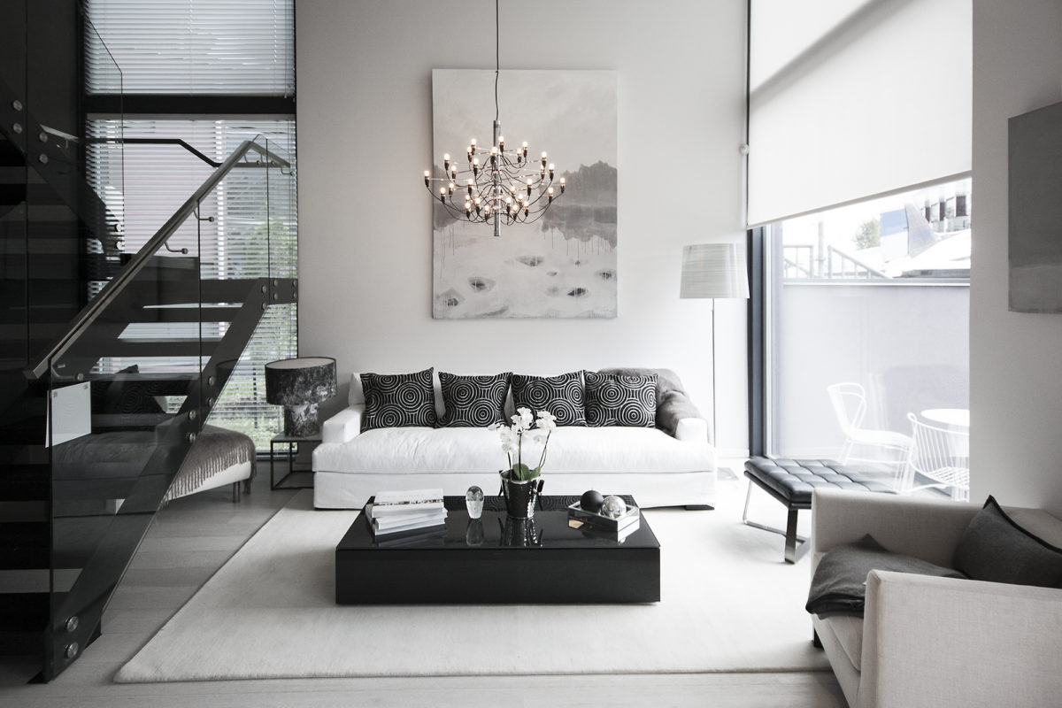 Asuntomessut 2015 Vantaa, Urban Villa, olohuone