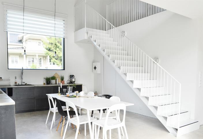Grado-portaat loft-kodissa