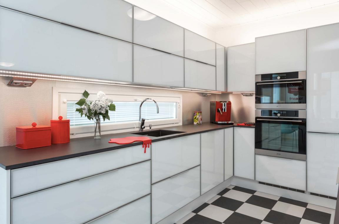 Kohde 15 Dekotalo 192 keittiö - Asuntomessut 2015 Vantaa