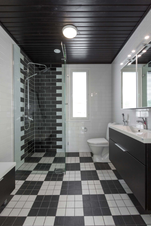 Kohde 15 Dekotalo 192 kylpyhuone - Asuntomessut 2015 Vantaa