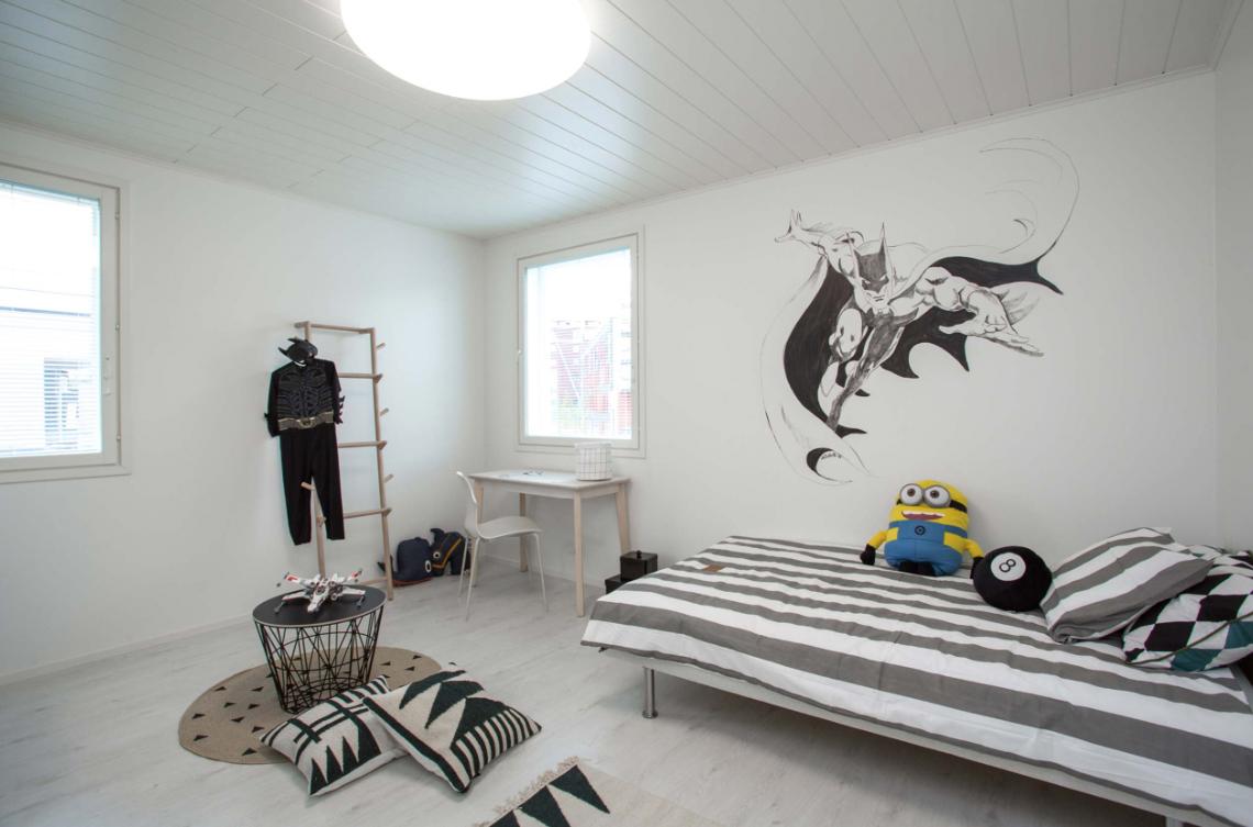 Kohde 15 Dekotalo 192 lastenhuone - Asuntomessut 2015 Vantaa