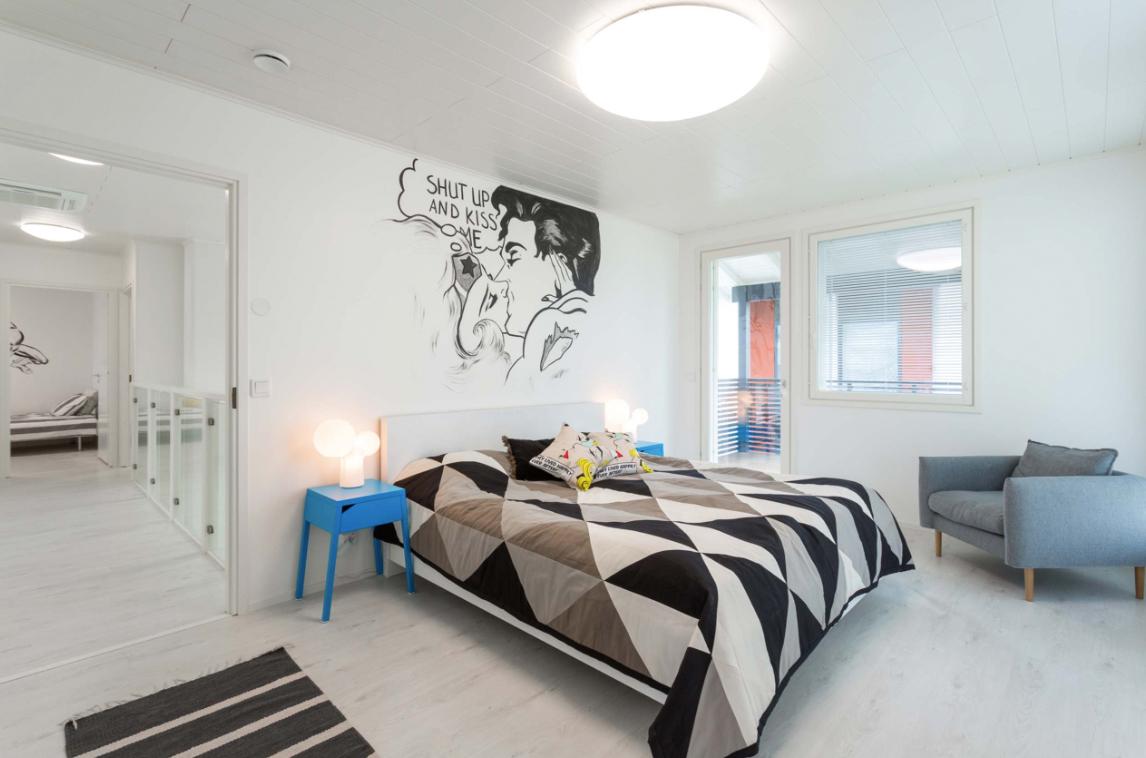 Kohde 15 Dekotalo 192 makuuhuone - Asuntomessut 2015 Vantaa