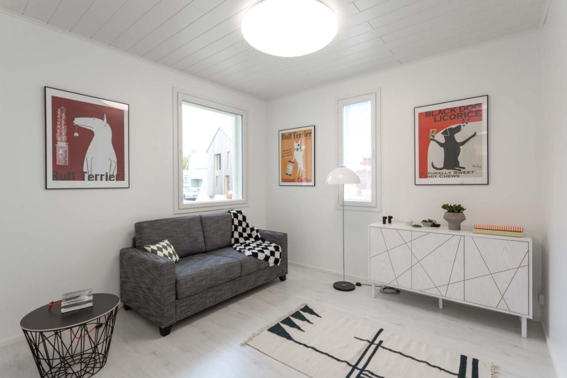 Kohde 15 Dekotalo 192 vierashuone - Asuntomessut 2015 Vantaa