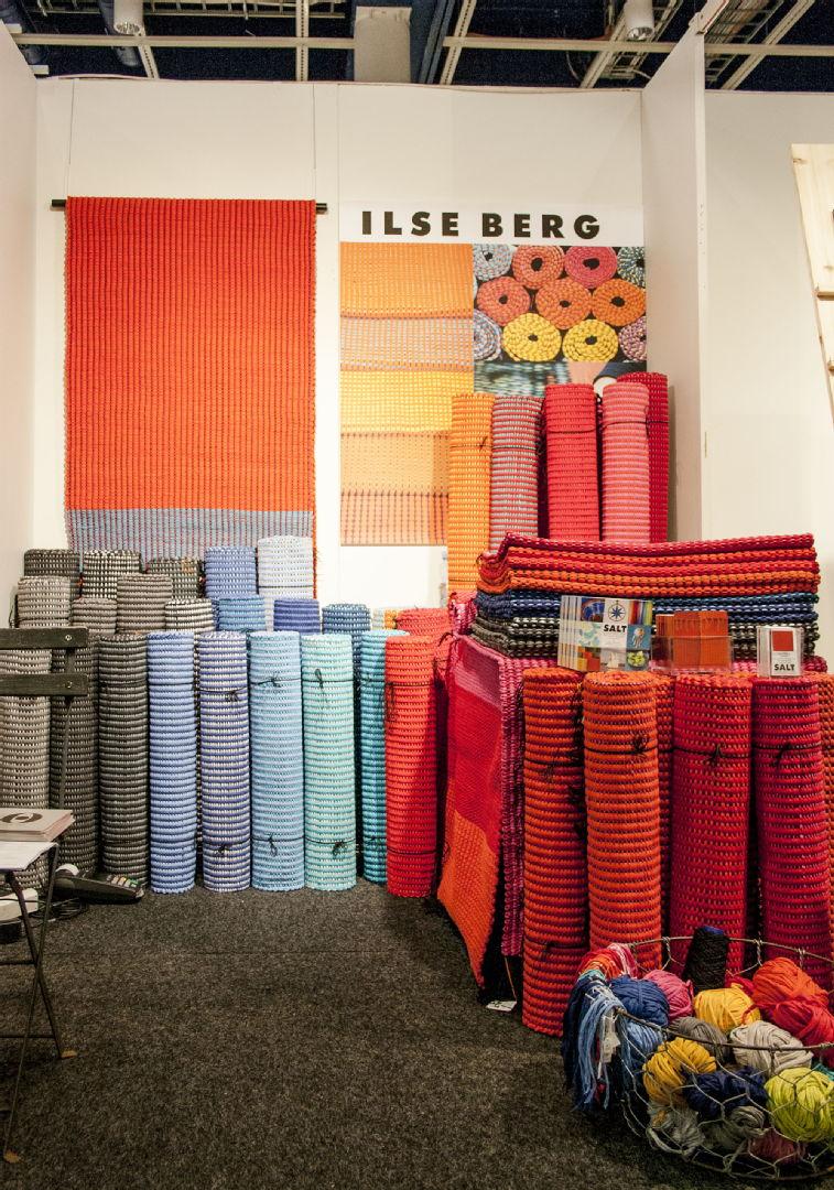 Ilse Berg -räsymatot Habitare 2015 -messuilla