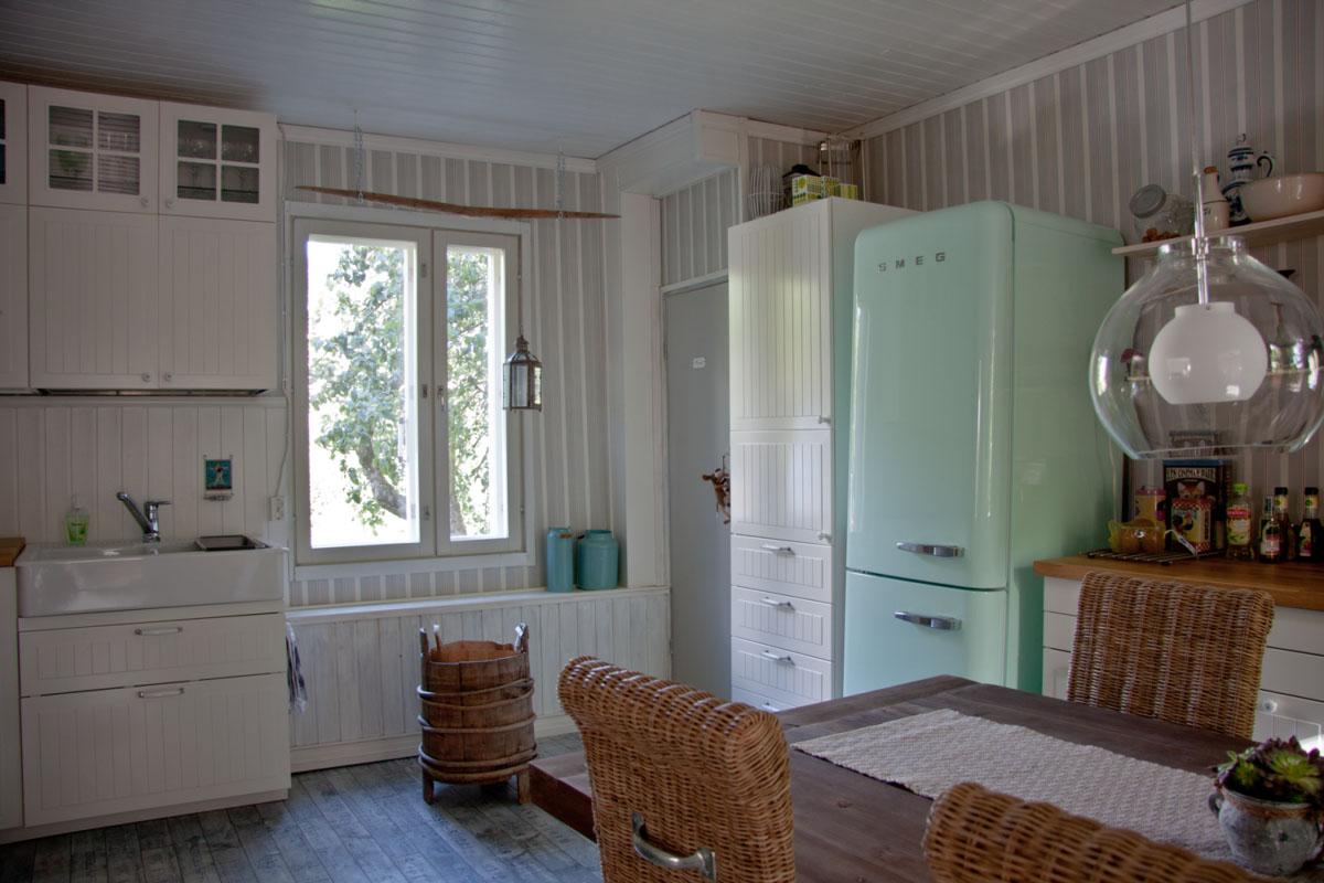 Pieni talo - keittiö