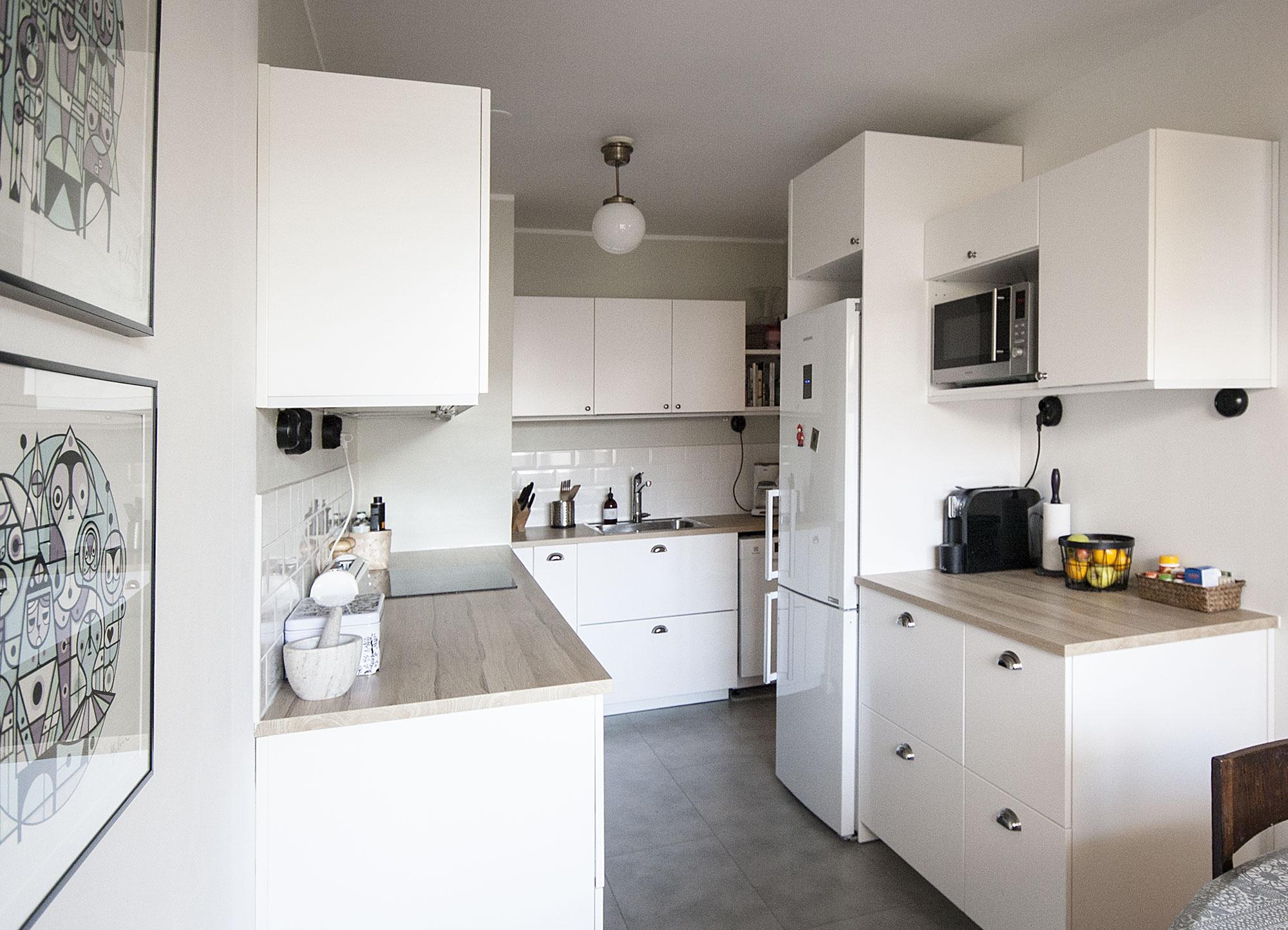 keittiöremontti, jälkeen kuva
