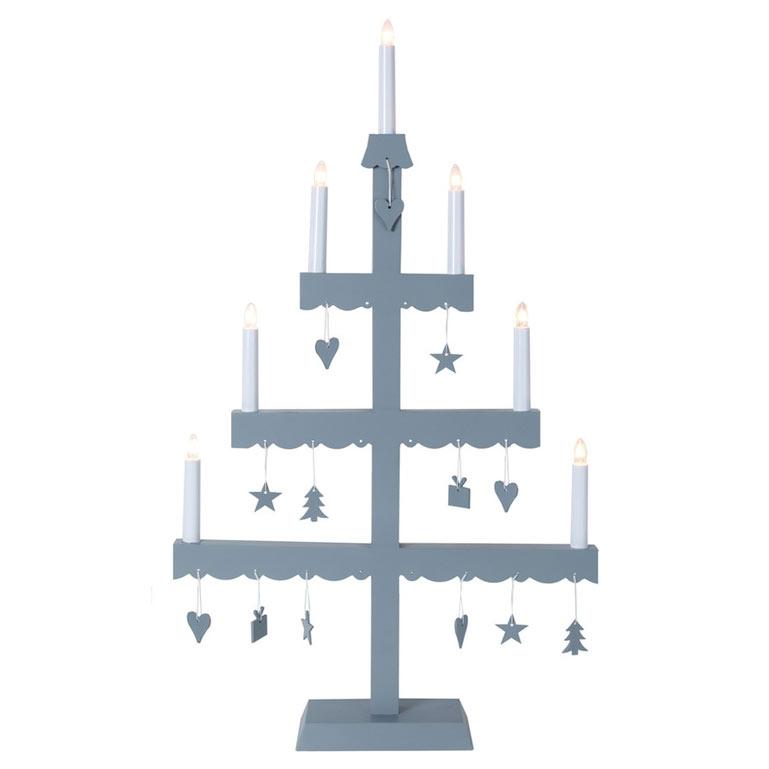 harmaa kynttelikkö