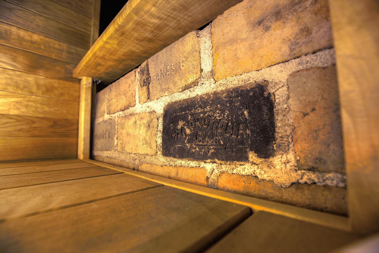 saunan remontti - puukiuas palomuuri