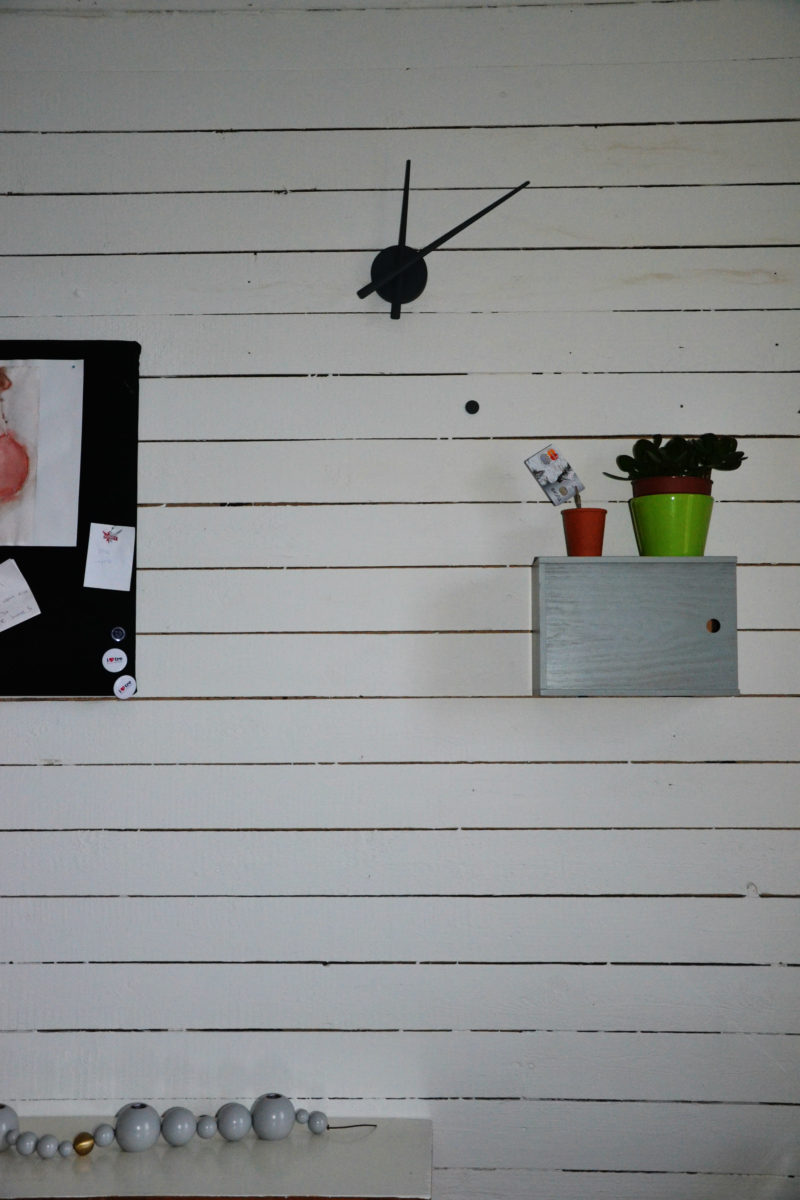 Työhuoneen remontti - detalji