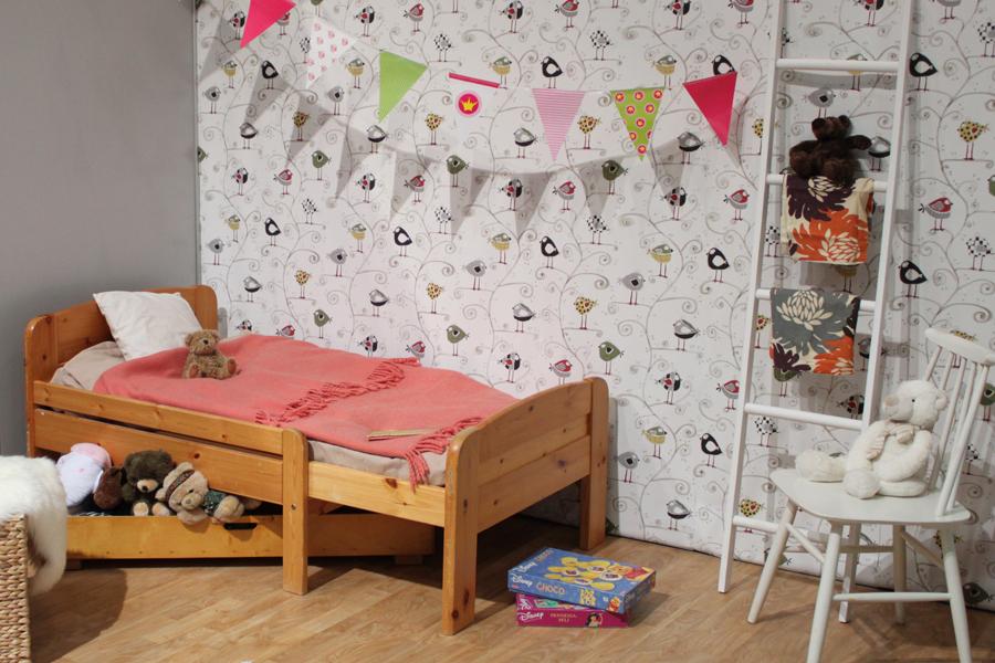lastenhuoneen sisustus eri-ikäisille lapsille