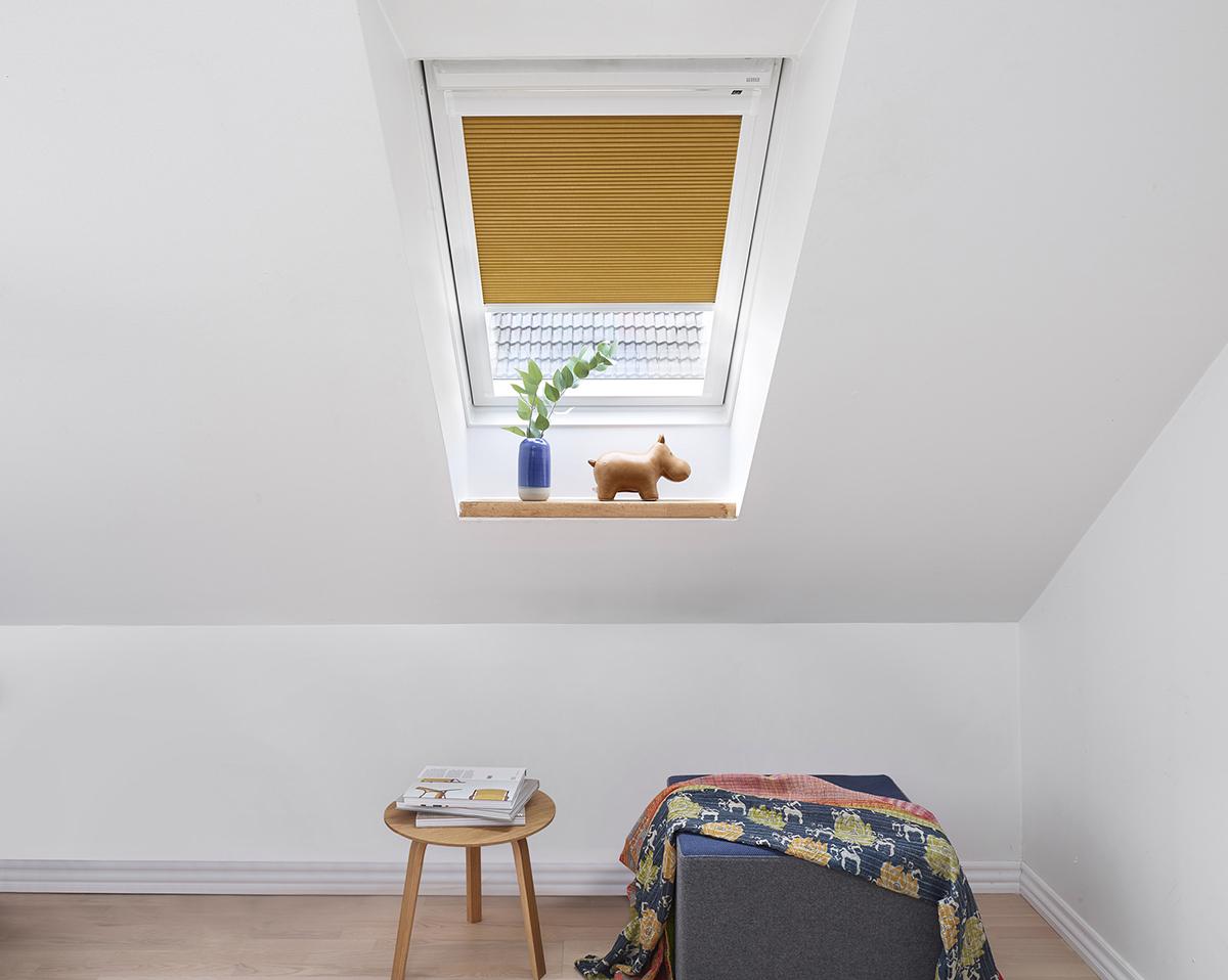 Luxaflex Duette -kaihdin sopii hankaliinkin ikkunoihin